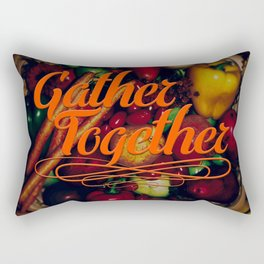 Gather Together Rectangular Pillow