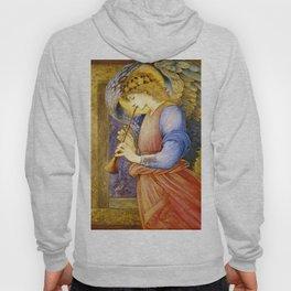 "Edward Burne-Jones ""An Angel Playing a Flageolet"" (1) Hoody"
