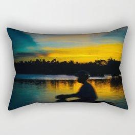 Hue Sunset Rectangular Pillow