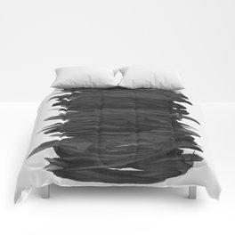 Abstract Minimalism #2 #minimal #ink #decor #art #society6 Comforters