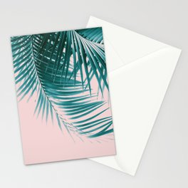 Palm Leaves Summer Vibes #1 #tropical #decor #art #society6 Stationery Cards