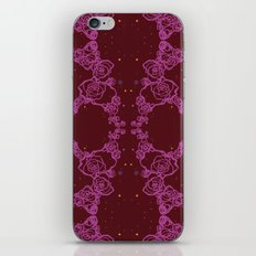 Pink Cluster iPhone & iPod Skin
