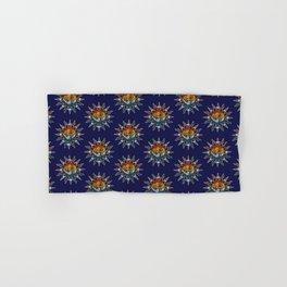 Celestial Mosaic Sun and Moon Hand & Bath Towel