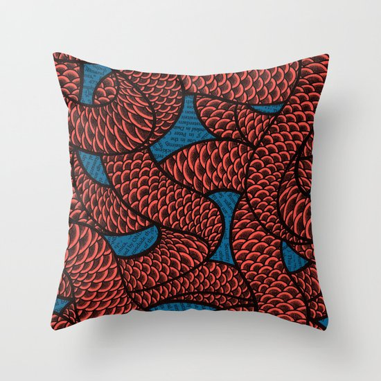 Coils Throw Pillow