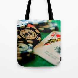 Casino Chips & Cards Tote Bag