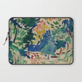 Landscape at Collioure - Henri Matisse - Exhibition Poster Laptop Sleeve