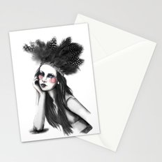 Show Girl Stationery Cards