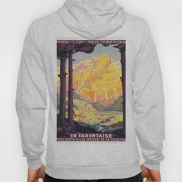 Vintage poster - En Tarentaise, France Hoody
