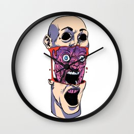 Opened Up Wall Clock