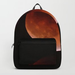 Blood Moon through Southern California Haze Backpack