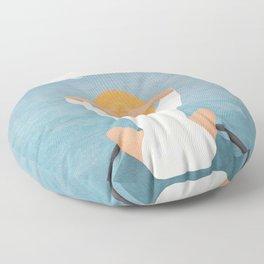 Summer Vacation I Floor Pillow