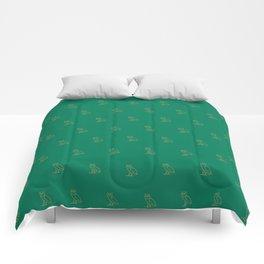 Classic Owl - Grass Comforters