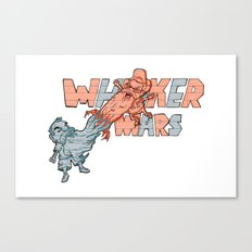 Whisker wars Canvas Print