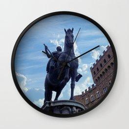 Piazza della Signoria, Florence Wall Clock