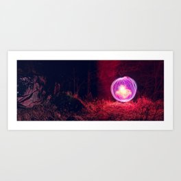 Sphere In The Wild Art Print