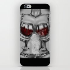 red wine iPhone & iPod Skin