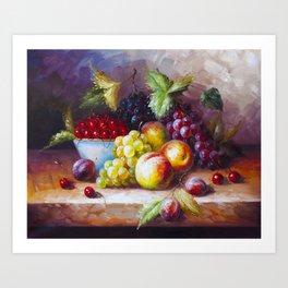 autumn sweets Art Print