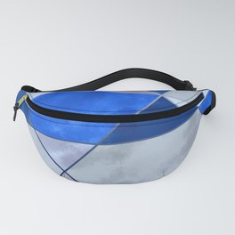 Concrete and Glass Fanny Pack