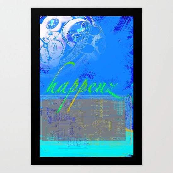 Happenz Art Print