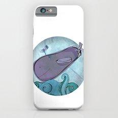 Eggplant Whale iPhone 6s Slim Case