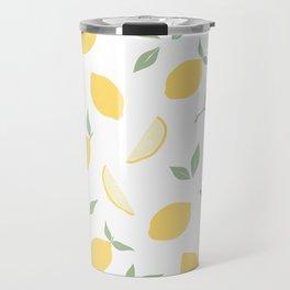Fresh summer lemons. Travel Mug