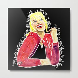 Anna Nicole Smith Metal Print