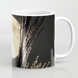 Watercolor Nightscape, Middletown 01, Maryland, Moonlight Reflections Coffee Mug