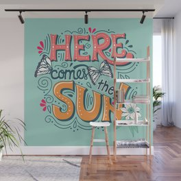 Here Comes The Sun 001 Wall Mural