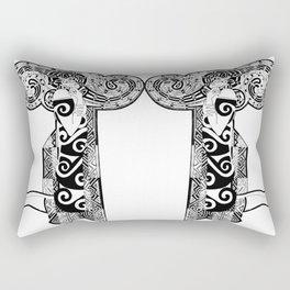 The Prayer,drawing Rectangular Pillow