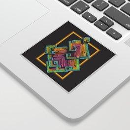 Bismuth Crystal Sticker