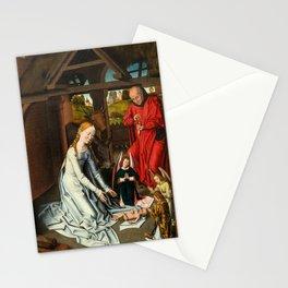 "Workshop of Hans Memling ""The Nativity"" Stationery Cards"