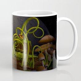 Mushrooms Planet Coffee Mug