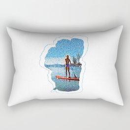 Sunset SUP Rectangular Pillow