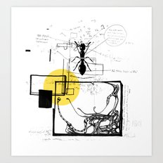 Ant In His Universe Art Print