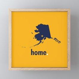 Alaska Proud Framed Mini Art Print