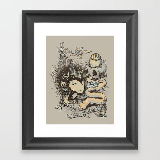 Haunters of the Waterless Framed Art Print