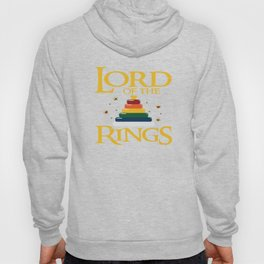 Baby Lord Rings Mum Dad Kids Fantasy Parents Gift Hoody