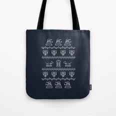 Timey Wimey Christmas Tote Bag