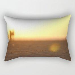 Sandy Sunset Rectangular Pillow