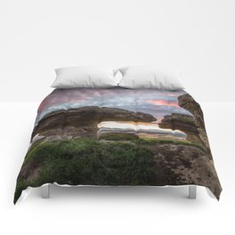 The Bunnet Stane Fife Scotland Comforters