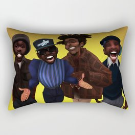 Passing me by Rectangular Pillow