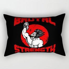 BRUTAL STRENGTH II Rectangular Pillow