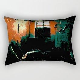 My room Rectangular Pillow