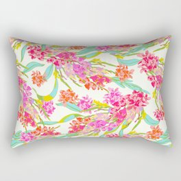 Spring Blossoms by UKULELE® Rectangular Pillow