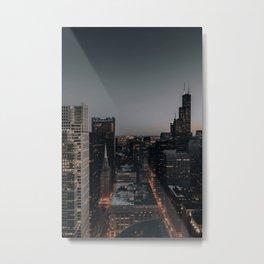 City Night  Metal Print