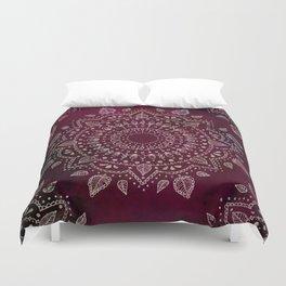 Wine Mandala Duvet Cover