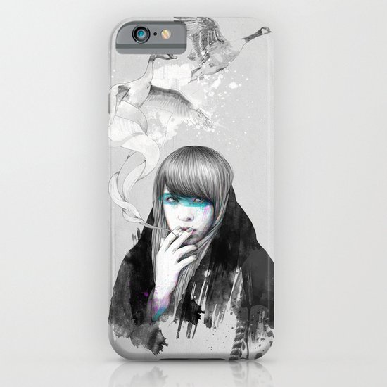 Swan Love iPhone & iPod Case
