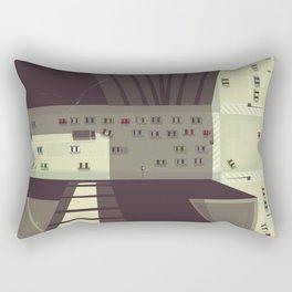 Manhattan New York City Rectangular Pillow