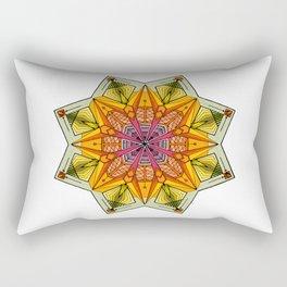 octagonal flowers Rectangular Pillow