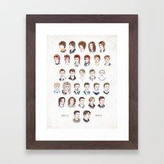 Time May Change Me II Framed Art Print